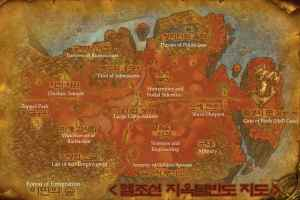 Here is a map of Hell Joseon!