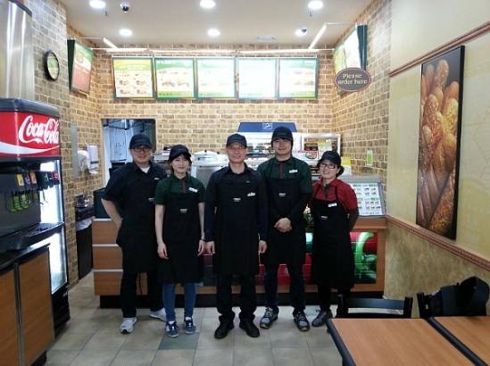 Random internet picture of Subway staff found online.